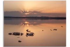 Sunset on the Predrera, Spain