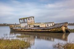 Boat at Pin Mill