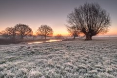 Flatford-in-frost